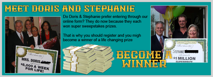 Legitimate sweepstakes in the us